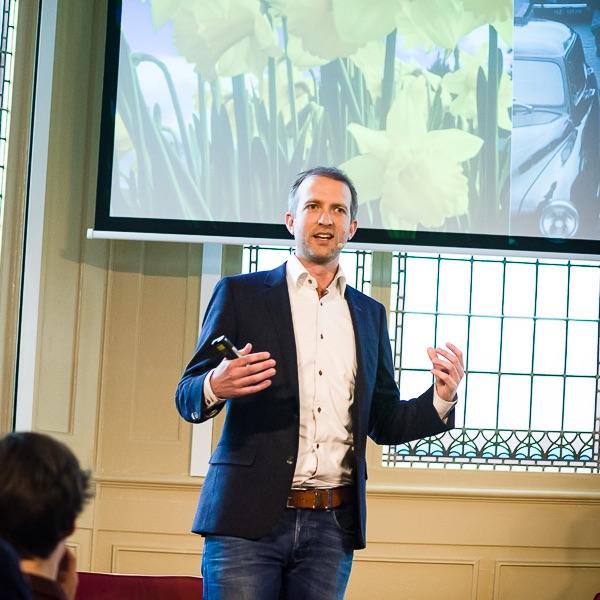 Collegetour framing bij Goede Doelen Nederland