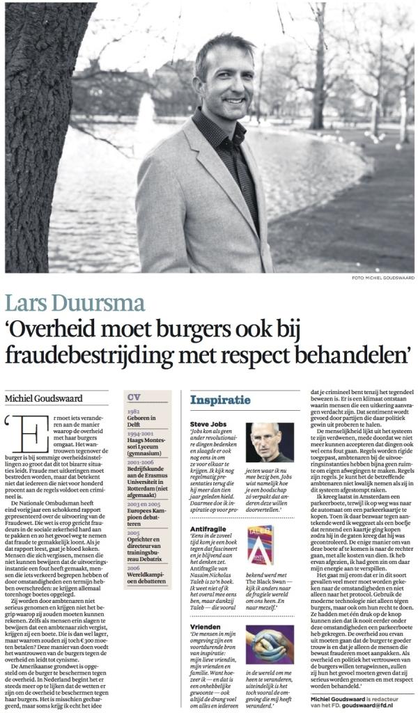 FD Brandende Kwesties - Lars Duursma